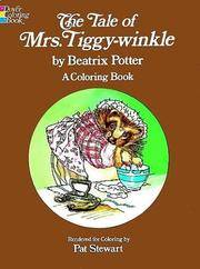 Tale of Mrs Tiggy-Winkle Coloring Book,T