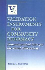 VALIDATION INSTRUMENTS FOR COMMUNITY PHARMACY PHARMACEUTICAL CARE FOR THE THIRD