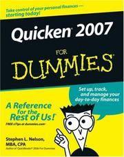 Quicken 2007 For Dummies
