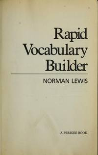 Rapid Vocabulary Builder by Lewis, Norman