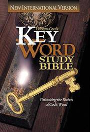 NIV Hebrew-Greek Key Word Study Bible : Hardbound