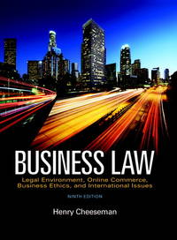 image of Business Law (9th Edition)