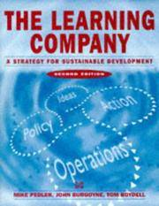 The Learning Company : A Strategy for Sustainable Development