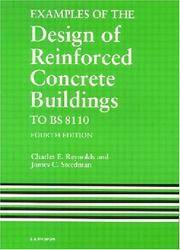 Examples of the Design of Reinforced Concrete Buildings to BS8110, Fourth Edition