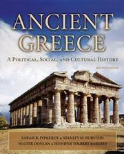 image of Ancient Greece: A Political, Social and Cultural History, 2nd Edition