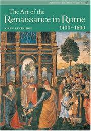 Art of Renaissance Rome, The (Reissue), Perspectives Series