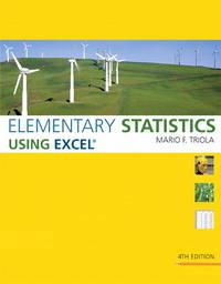 Elementary Statistics Using Excel Plus Mystatlab Student Access Kit