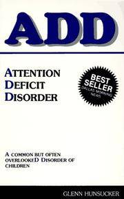 ADD Attention Deficit Disorder