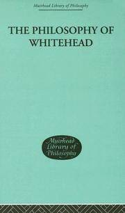 The Philosophy of Whitehead (Muirhead Library of Philosophy) Mays  W