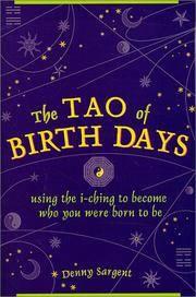 TAO OF BIRTH DAYS USING THE I CHIN