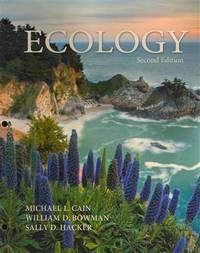 Ecology,(Looseleaf), Second Edition by Michael L. Cain; William D. Bowman; Sally D. Hacker - Paperback - 2011-03-02 - from Ergodebooks (SKU: SONG0878936009)