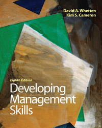 image of Developing Management Skills (8th Edition)