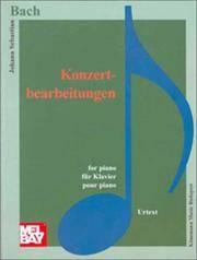 image of J. S. Bach: Concertos (Music Scores)