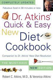 image of Dr. Atkins' Quick and Easy New Diet Cookbook : Companion to Dr. Atkins' New Diet Revolution