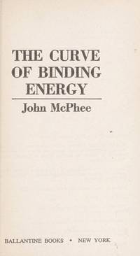 image of The Curve of Binding Energy