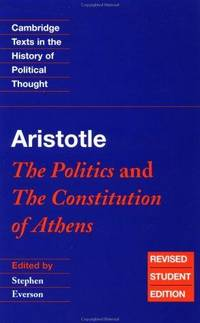 image of Aristotle: The Politics and the Constitution of Athens (Cambridge Texts in the History of Political Thought)