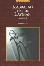 KABBALAH FOR THE LAYMAN. Guide To Cosmic Consciousness.