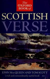 The Oxford Book of Scottish Verse.