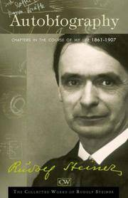 image of Autobiography: Chapters in the Course of My Life: 1861-1907 (The Collected Works of Rudolf Steiner)