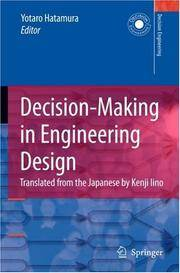 Decision- Making in Engineering Design (Decision Engineering)