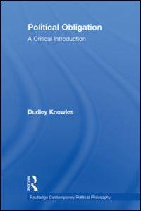 image of Political Obligation: A Critical Introduction (Routledge Contemporary Political Philosophy)
