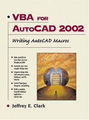 VBA for AutoCAD 2002: Writing AutoCAD Macros