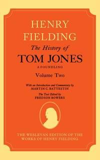 image of The History of Tom Jones A Foundling: Volume II (Hardback)