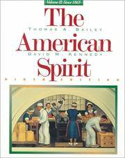 The American Spirit, Volume 2: Since 1865