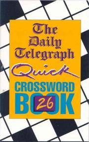 D.T. Quick Crossword Book 26: No.26 by Telegraph Group Limited - Paperback - 3 - from Brit Books Ltd and Biblio.com