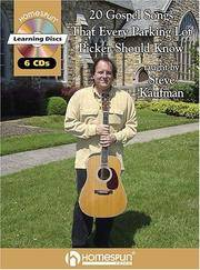 20 GOSPEL SONGS EVERY PARKING LOT PICKER SHOULD KNOW      BK/CD 6 CDS