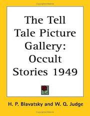 The Tell Tale Picture Gallery: Occult Stories 1949