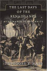 image of The Last Days of the Renaissance:_the March to Modernity