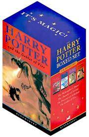 image of Harry Potter Boxed Set (Volumes 1-4)