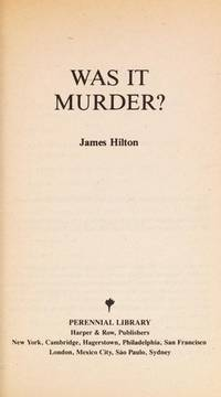 image of Was It Murder?