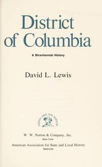 image of District of Columbia : A Bicentennial History