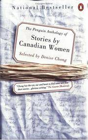 Penguin Canadian Anthology of Stories by Canadian Women