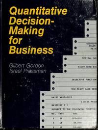 Quantitative Decision Making for Business