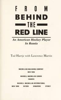 From Behind the Red Line: An American Hockey Player in Russia
