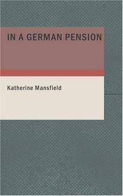 image of In a German Pension
