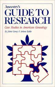 Ancestry\'s Guide to Research