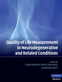 Quality of Life Measurement in Neurodegenerative and Related Conditions by Editor-Crispin Jenkinson; Editor-Michele Peters; Editor-Mark B. Bromberg - Hardcover - 2011-03-14 - from Ergodebooks (SKU: SONG0521829011)