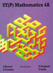 ST(P) Mathematics 4A Second Edition: Bk. 4A