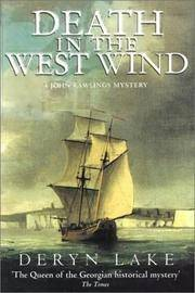 Death in the West Wind. Signed by Author