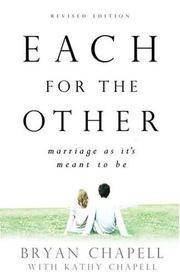 each for the other - marriage as its meant to be