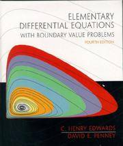 Elementary Differential Equations with Boundary Value Problems (4th Edition)