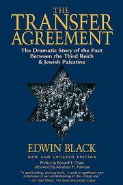 image of The Transfer Agreement: The Dramatic Story of the Secret Pact Between the Third Reich and Jewish Palestine