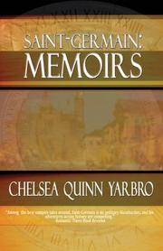 Saint-Germain Memoirs by Chelsea Quinn Yarbro - Paperback - 2008-02-15 - from Ergodebooks (SKU: DADAX1934501018)