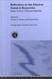 canon classical economics essay hollander honor in in reflection samual 9781432544904 143254490x the value of life - a reply to mr mallock's essay,  open - poems of reflection,  arts - style and design from classical to.