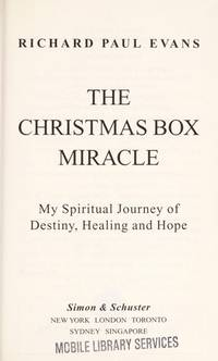 image of The Christmas Box Miracle : My Spiritual Journey of Destiny, Healing and Hope