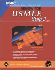 NMS Review for the USMLE Step 3 (Book with CD-ROM) by Rosner, Mitchell H